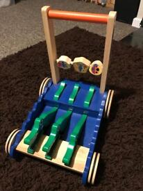 Lovely wooden push along toy