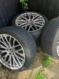 """Bmw 19"""" staggered 5x120"""