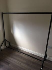 Clothes Rail Heavy Duty x2