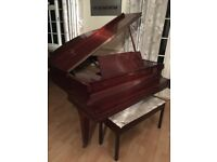 Eavestaff baby grand piano. Good condition. Looking for a loving home. Collection only.