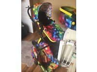 Cosatto travel set, buggy, carry cot and car seat