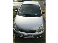 Cheap Toyota Yaris for sale £750 price negotiable