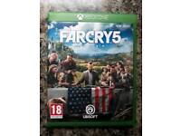 Far cry 5 xbox one in mint condition