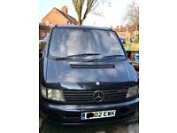 Mercedes Vito Camper (unfinished project)
