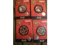 Manchester united rare poker chips collectables 2007 limited edition