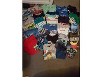 Boys bundle tshirts age 5-6