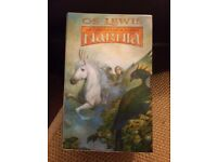 Ted Smart first edition Chronicles Of Narnia complete box set