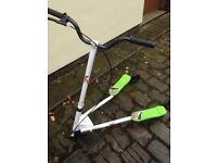 Drifting Tri-scooter in nearly new condition
