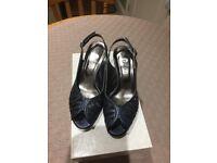 Ladies Navy blue shoes