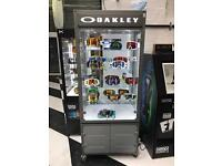Oakley display cabinet