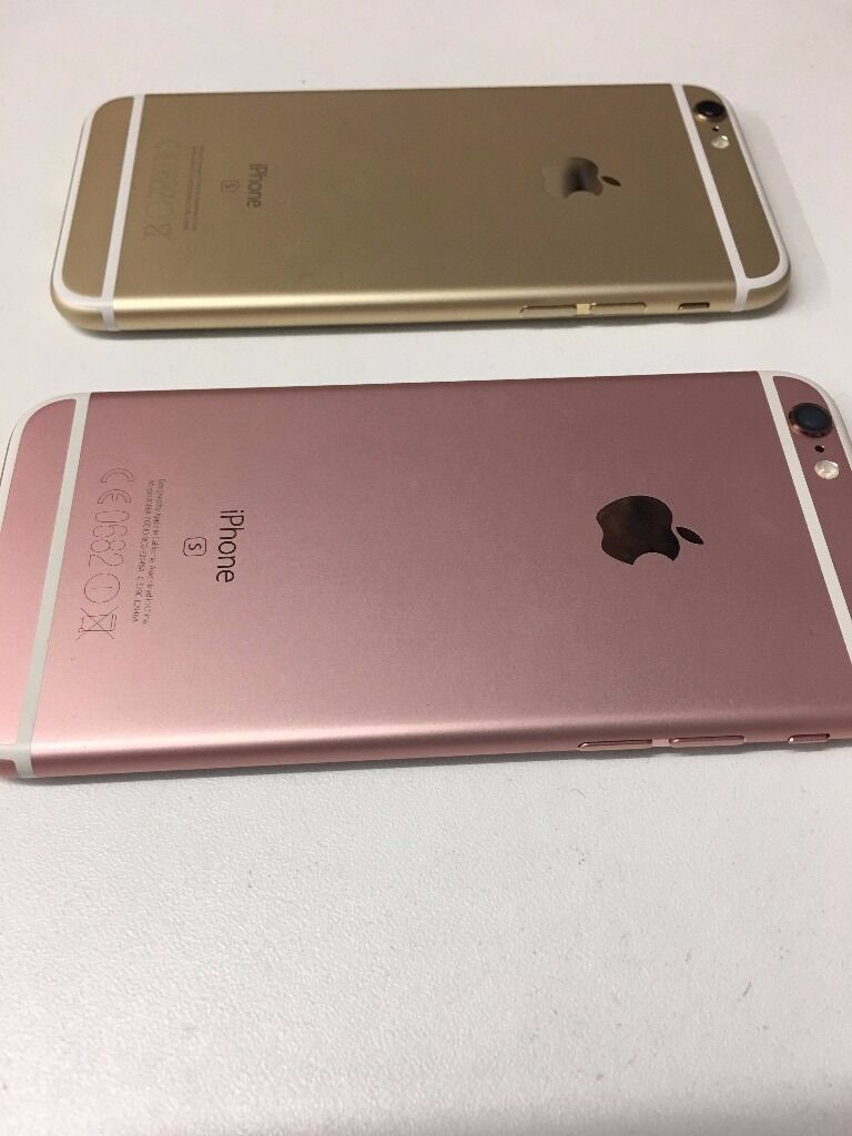 APPLE IPHONE 6S 16GB ROSE GOLD/ GOLDUNLOCKEDGRADE Ain Stoke on Trent, StaffordshireGumtree - APPLE IPHONE 6S 16GB ROSE GOLD/ GOLD UNLOCKEDGRADE A CHOICE OF 2 IN STOCK ROSE GOLD 16GB ON 02 NETWORKS £340 (UNLOCKED £360) WARRANTY UNTIL OCTOBER 2017. GOLD 16GB UNLOCKED £360 APPLE WARRANTY END OF JANUARY 2017 WITH SHOP RECEIPT AND GUARANTEE
