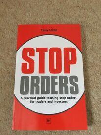 STOP ORDERS book