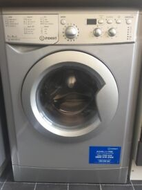 65 Indesit IWDD7143S 7+5kg 1400Spin Silver LCD Sensor Washer/Dryer 1 YEAR GUARANTEE FREE DEL N FIT