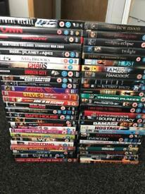 54 dvd bundle some new and sealed works out 65p a 📀 dvd