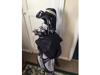 Set of 16 golf clubs and bag prosimmon