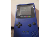 Nintendo Gameboy colour + carry pouch and 1 game