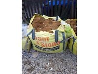 Huge bulk bag sharp sand
