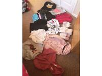 Girls winter clothes bundle aged 6-7
