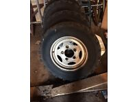 Landrover defender/discovery wheels and tyres