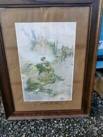 Goodbye old friend in oak frame