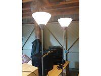 Floor Lamps x3 Ikea