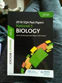 HOW TO PASS COMPUTING SCIENCE BOOK AND 2016 SQA PAST PAPERS NATIONAL 5 BIOLOGY BOOK