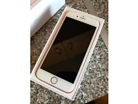 iPhone 6s Rose Gold 64GB Unlocked, great condition