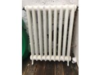 Old Victorian(?) free-standing cast iron radiator