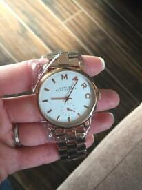 Rose gold Marc Jacobs watch