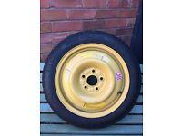 "Honda Civic wheel/tyre. Space saver spare. 2006-2017. New unused 16"""