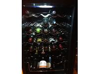 Wine Cooler Fridge. Samsung. 25 Wine Bottles and 4 Champagne capacity