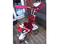 Smart trike dream 4 in 1. Red. Excellent condition.