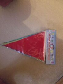 5 COLOUR BUNTING
