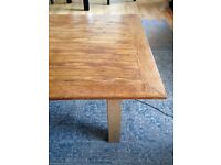 Wooden living room table, newly sanded and polished for sale
