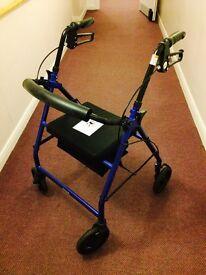 Aluminium Rollator Walking Aid
