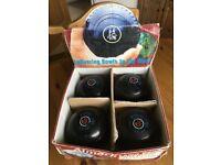 Almark Lawn Bowls. Sterling Slim-line size 3 HM