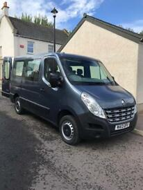 Renault master wheelchair access with ricon wheelchair lift 2013
