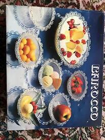 Varicose seven piece dessert set.