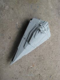 star wars star destroyer& death star