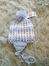 baby bonnet BNWT 6-12