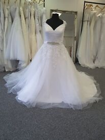 Plus Size Wedding dresses available. starting from £150