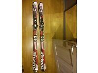 Atomic Skis 159 with bindings