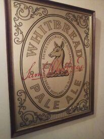 Whitbread Pale Ale Pub Mirror