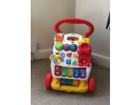 Vtech First Steps Baby Walker interactive musical toy