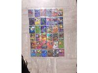 36 x Mixed Holo Pokemon cards EX Mega + Basic Holos Etc/ Some Nice Rares