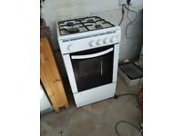Two fully functional gas cookers, in use until recently, to use or scrap