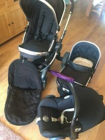 I candy peach 2 travel system