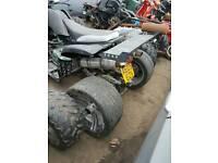Road legal quad..spares or repairs..250cc... £399