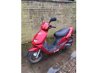 Sym Jet 50cc Moped FSH 1 Owner Low Mileage