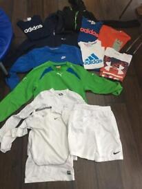 Boys sporty clothes bundle